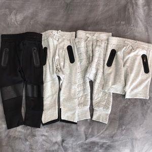 Afton Street 4 Baby boy joggers pants & shorts NWT